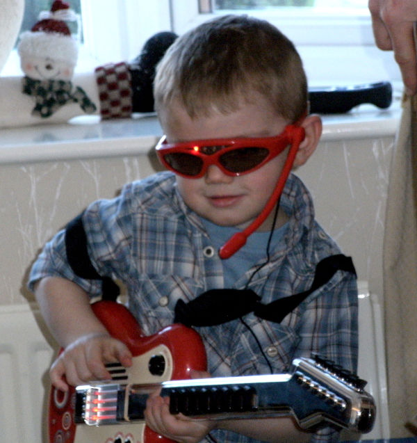 My Own Guitar Hero!!!