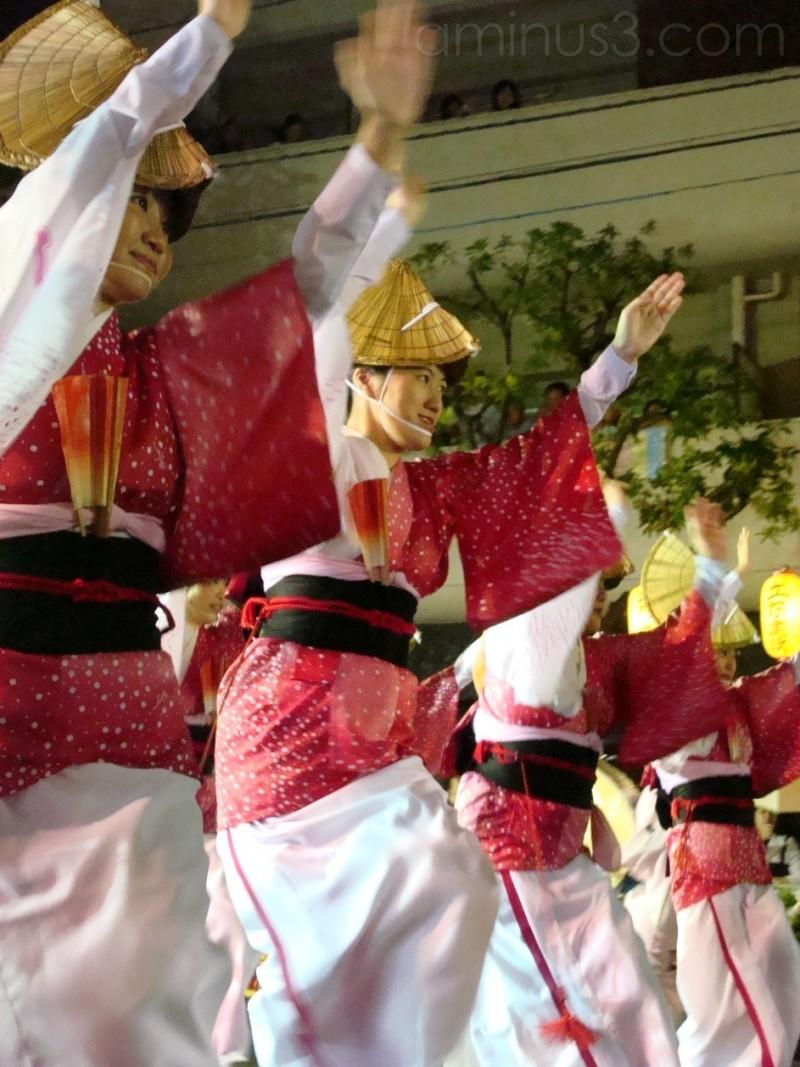Awa Odori dance festival in Tokyo