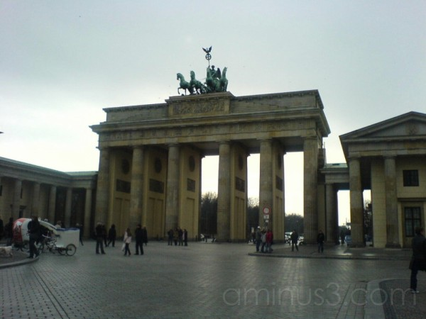 "The ""Brandenburgertor"" in Berlin"