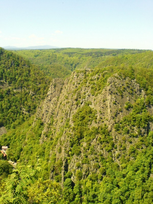 Mountains in the Harz