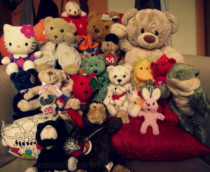 The teddy family.