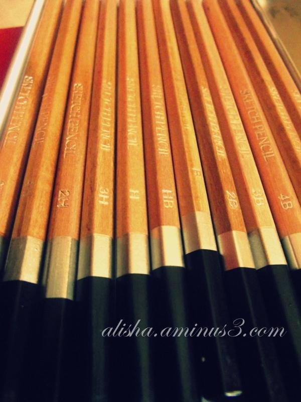My favorite pencils
