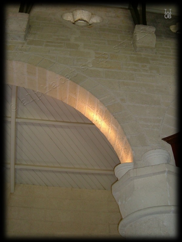 glowing arch, St. James Anglican Church Barbados