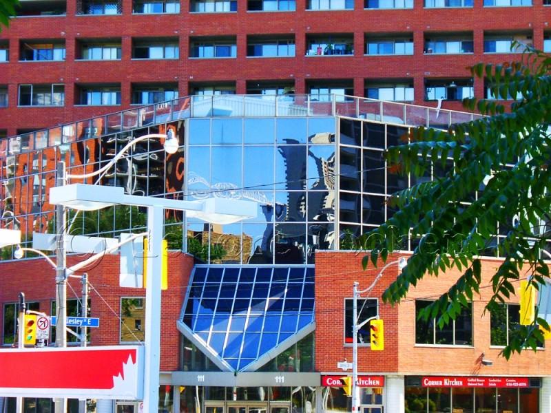 southwest corner of Jarvis and Wellesley Toronto
