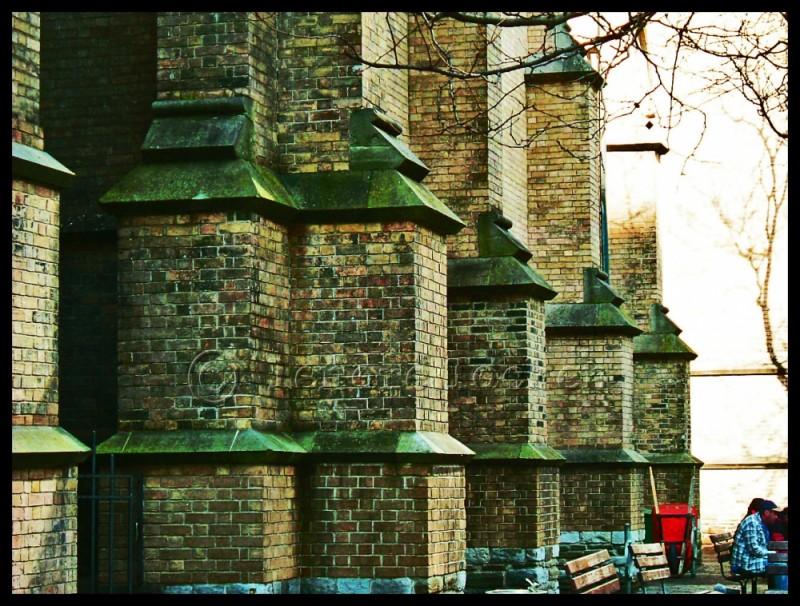 church beside eaton centre in toronto