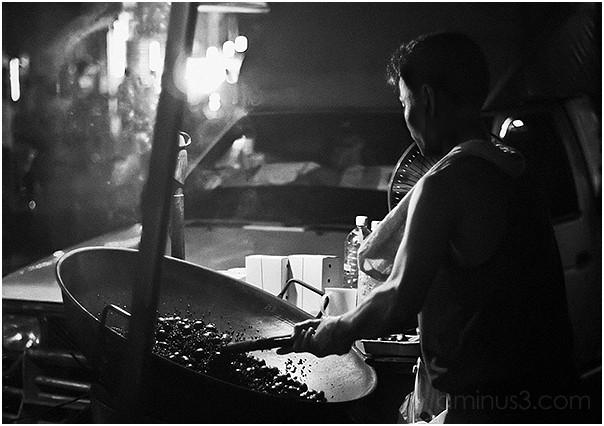 Food Vendor At Chinatown