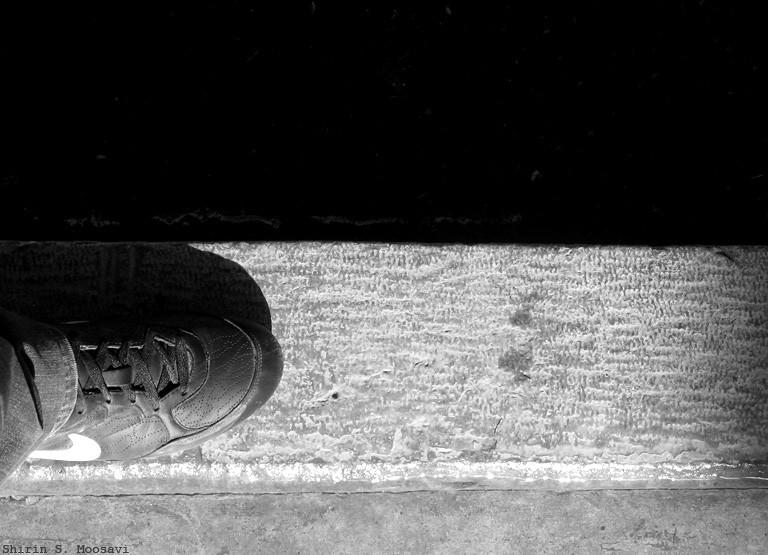 shoe, mono, nike, shirin moosavi
