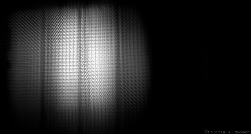 mono, dark, glass, black-out, shirin moosavi