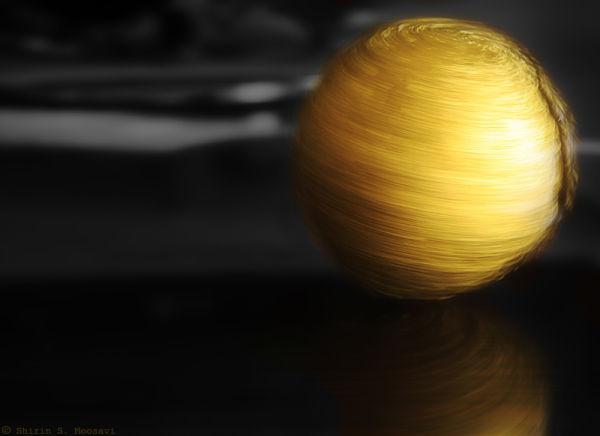 golden globe, spin, foil-wrap, shirin moosavi