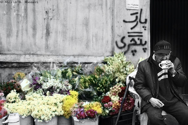 selective-color, street, kolak-chal,shirin moosavi