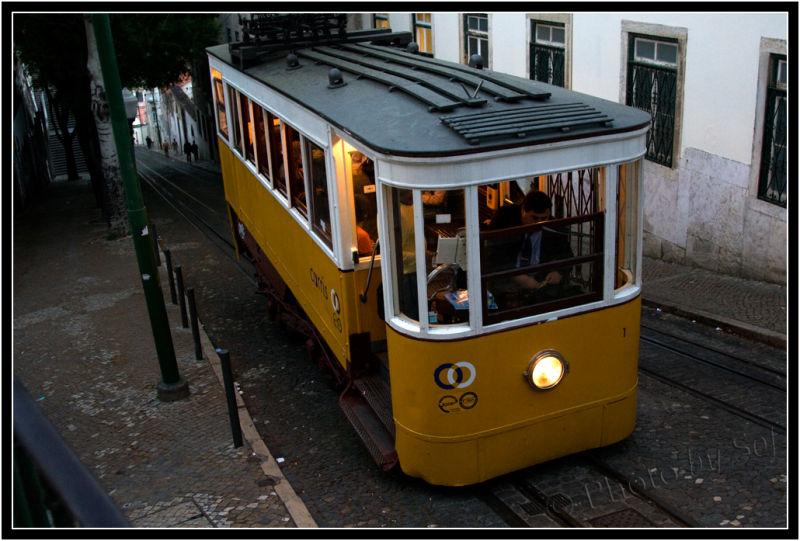 Tram,Lisbonne