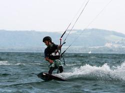 Kite, lac de Neuchâtel