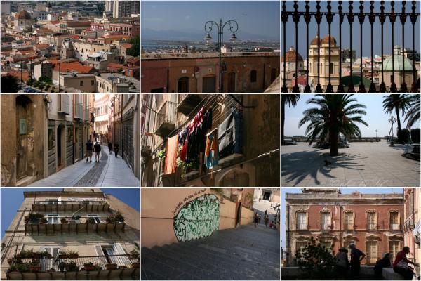 sardaigne ville Italie
