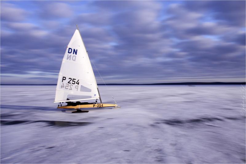 Iceboat World championship 2012