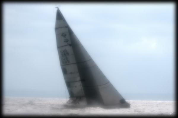 Flou sur voilier