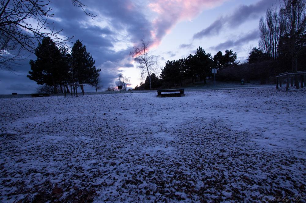 Il a neigé sur Neuchâtel (2)