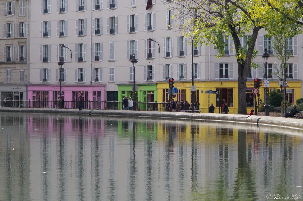 Paris reflets