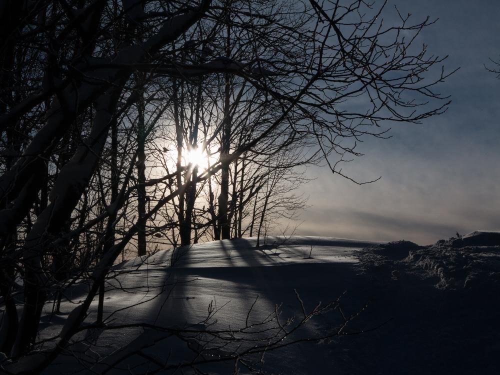 Le soleil descend