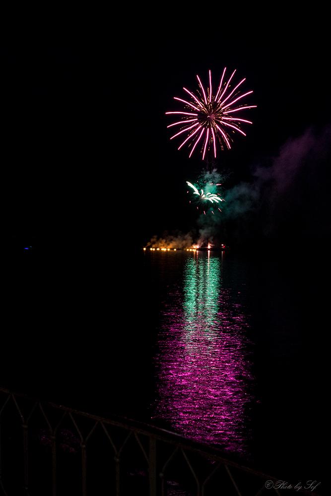 fete du lac, Neuchatel, feux artifice