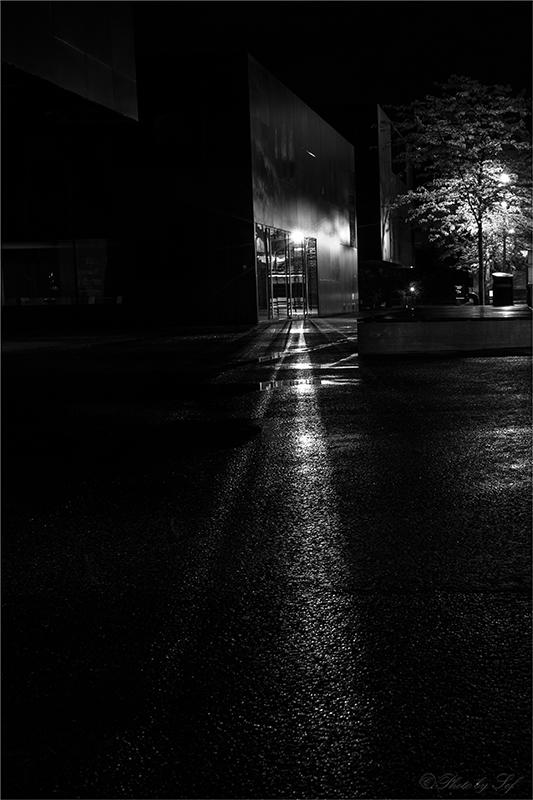 Neuchâtel de nuit, Neuchâtel,