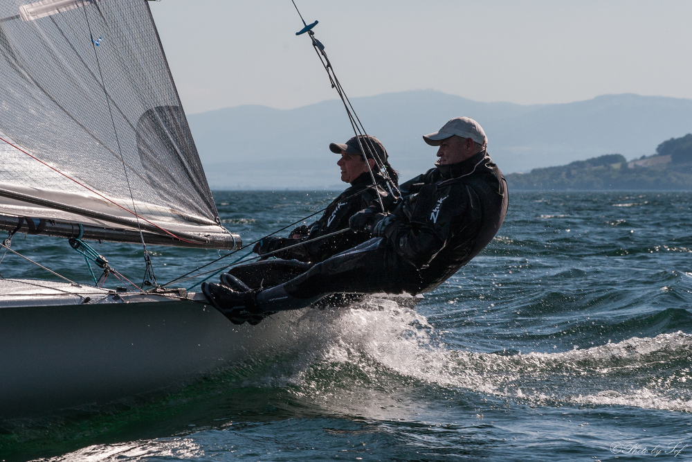 Voile lac de Neuchâtel, 5o5