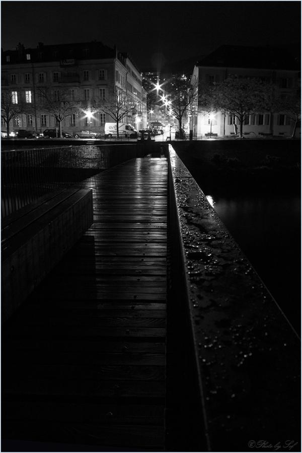 Neuchâtel, passerelle
