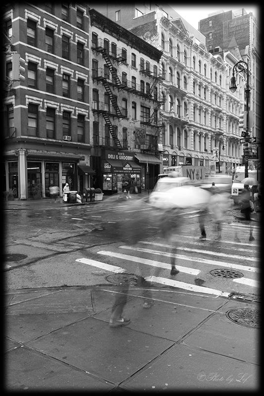 New York, un jour pluvieux