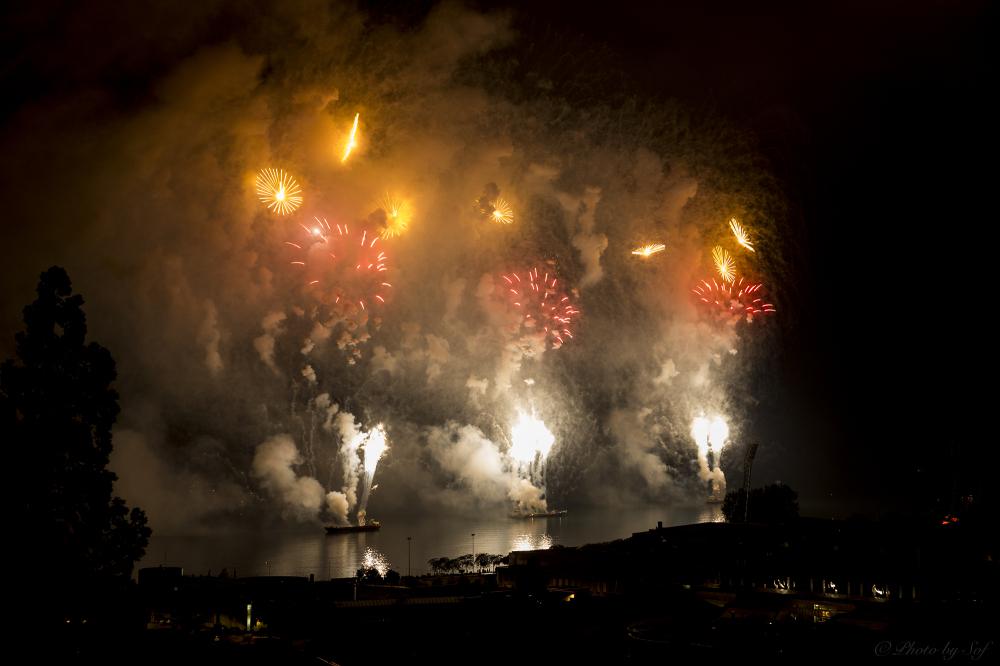 feux d'artifice 1er août Neuchâtel