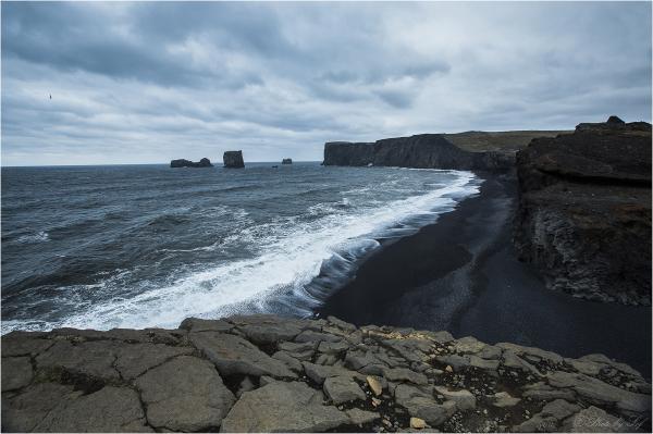Plage noire d'Islande