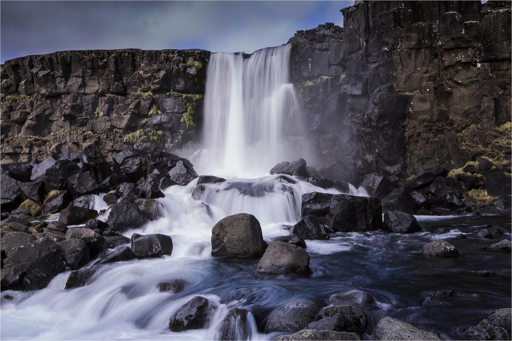 Une des cascades islandaises