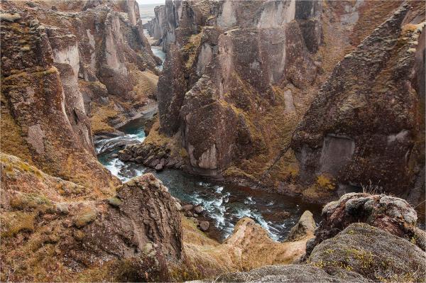 falaises islandaises