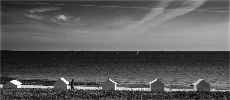 Cabannes de plage