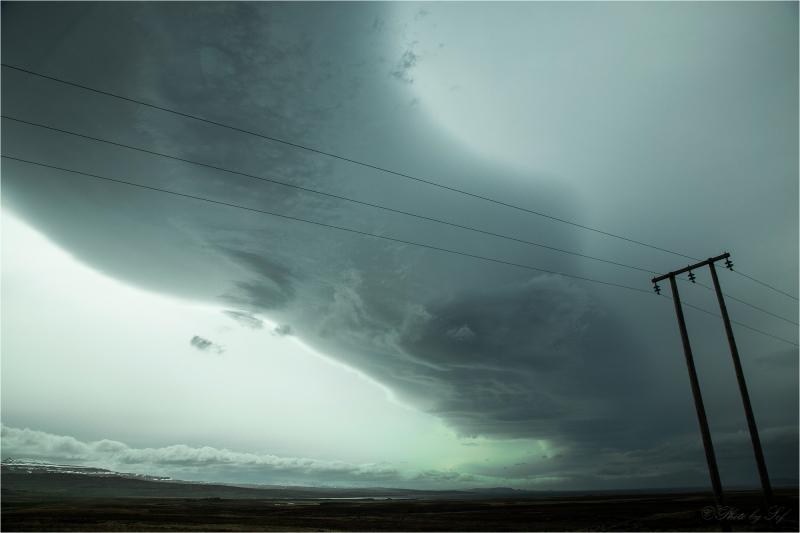 Un nuage islandais