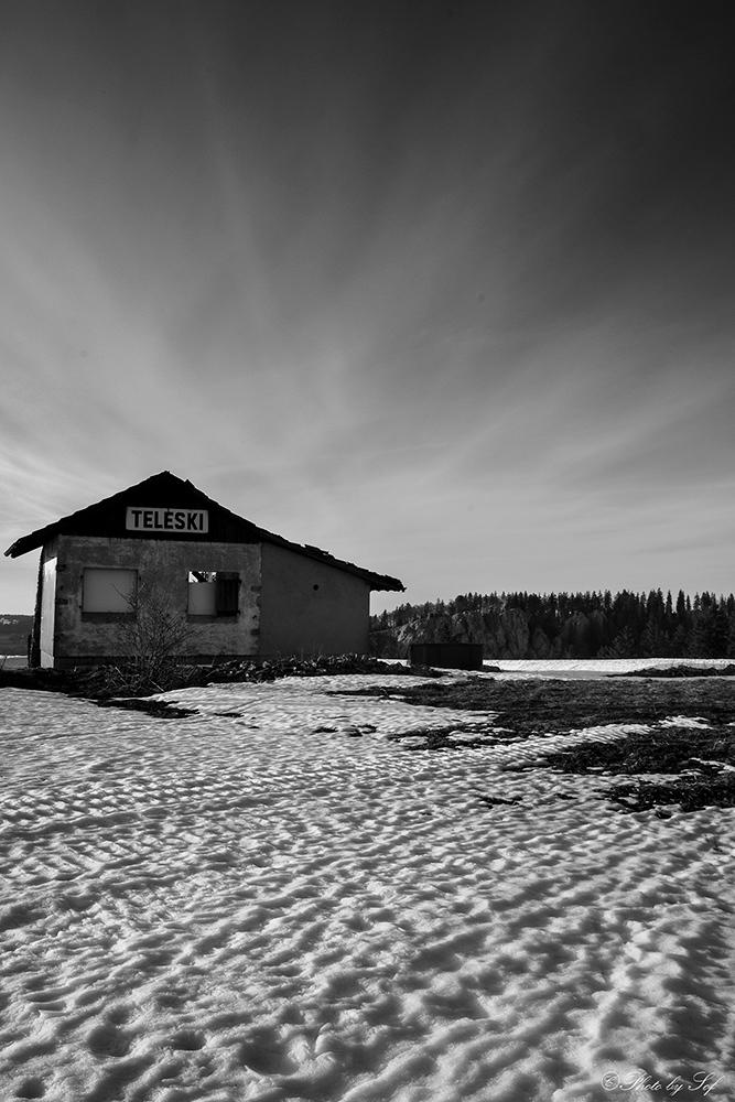 Le Téléski abandonné