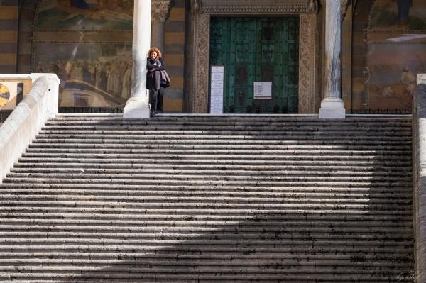 L'attente à Amalfi