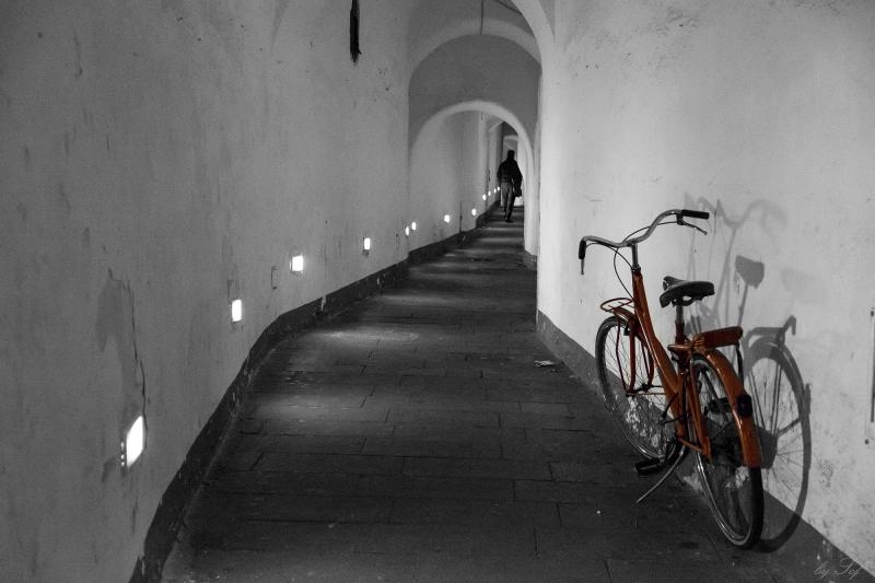 La byciclette rouge