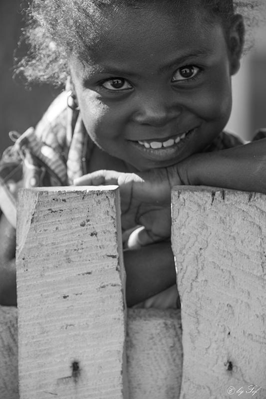Un sourire...