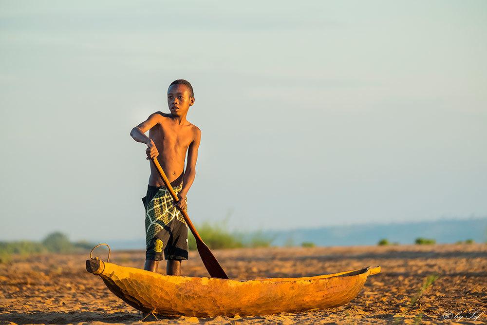 Jeune malgache