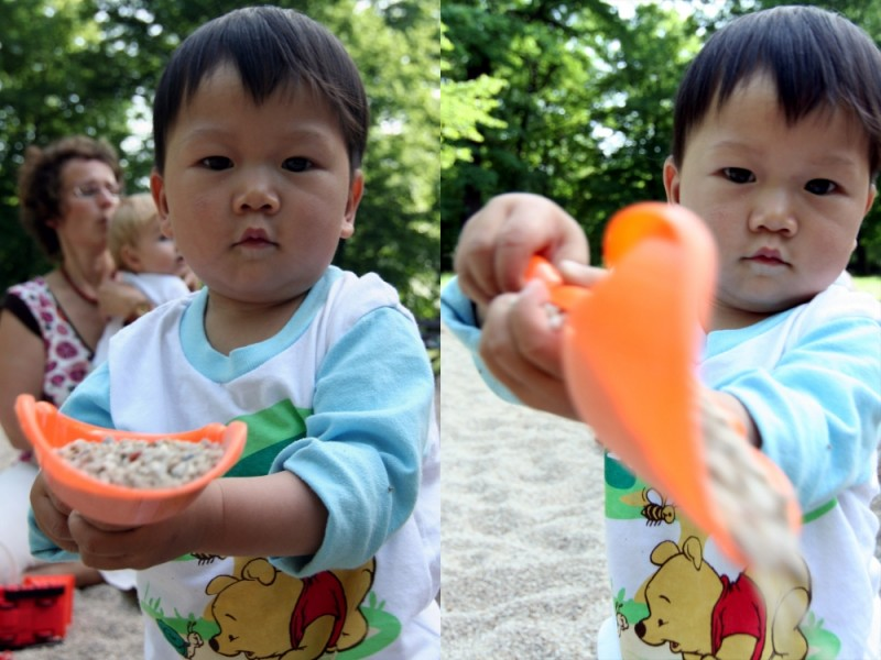 Samuel & his spade