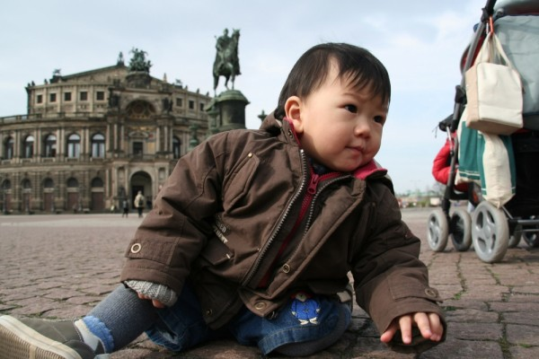 Samuel at Semper Oper