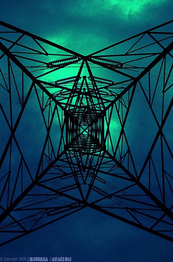 Under Power Tower !