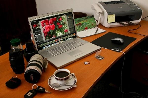 My little work space