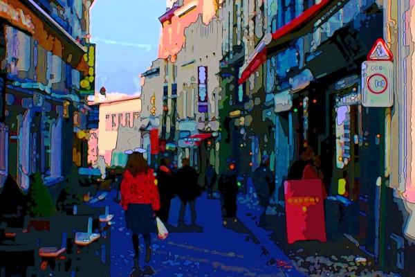 A street in Brussels