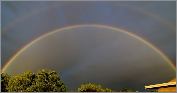 The Most Amazing Double Rainbow