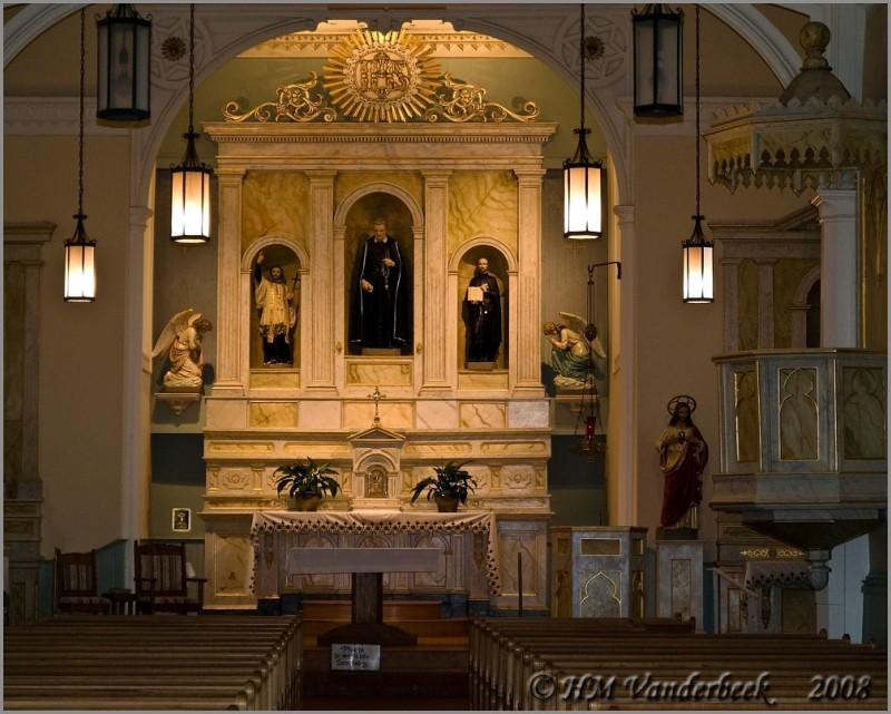 Altar at St. Felipe de Neri