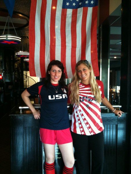 USA vs England World Cup Game