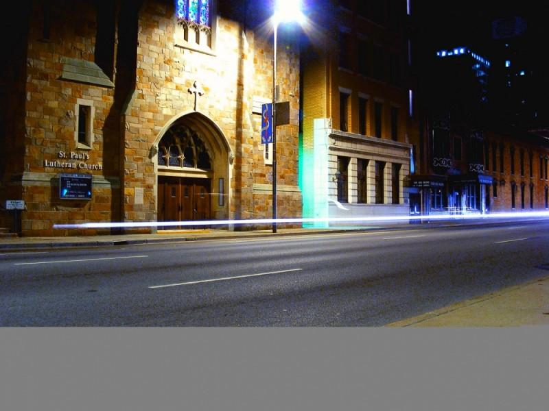 street lights...
