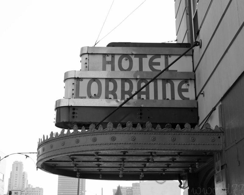the hotel Lorraine...
