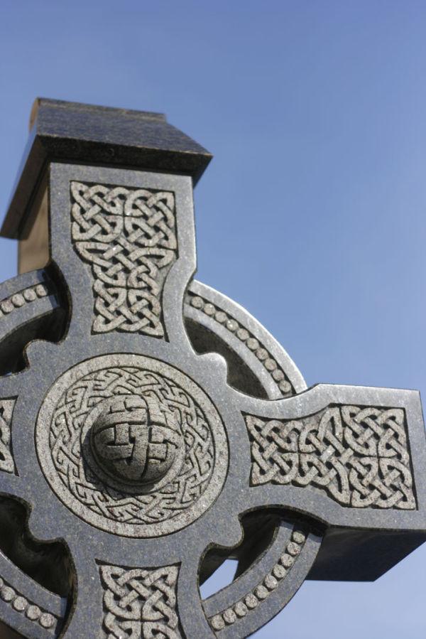 St. Pat's cross...