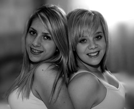 Black and White girls